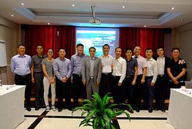 The official picture of the commitment made by 12 Chinese companies